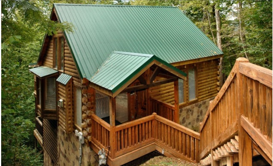 Gatlinburg 1 bedroom chalet | Diamond Mountain Rentals