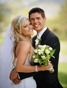 Gatlinburg Wedding Couple