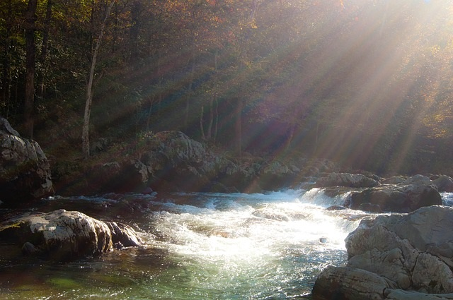 Gatlinburg hikes - creek